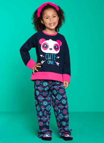 aec8703d736f44 Infantil - Menina Azuis Pijamas – puket
