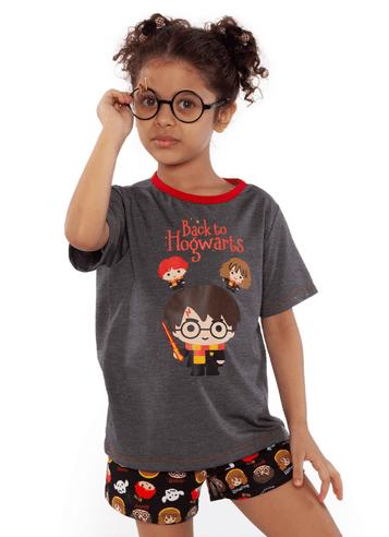 Pijama Curto Harry Potter Kids