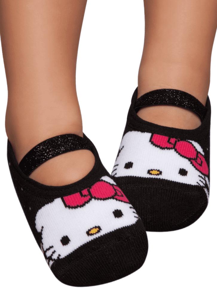 e81eeadbfb00b4 Meia Sapatilha Boneca Hello Kitty Baby - puket