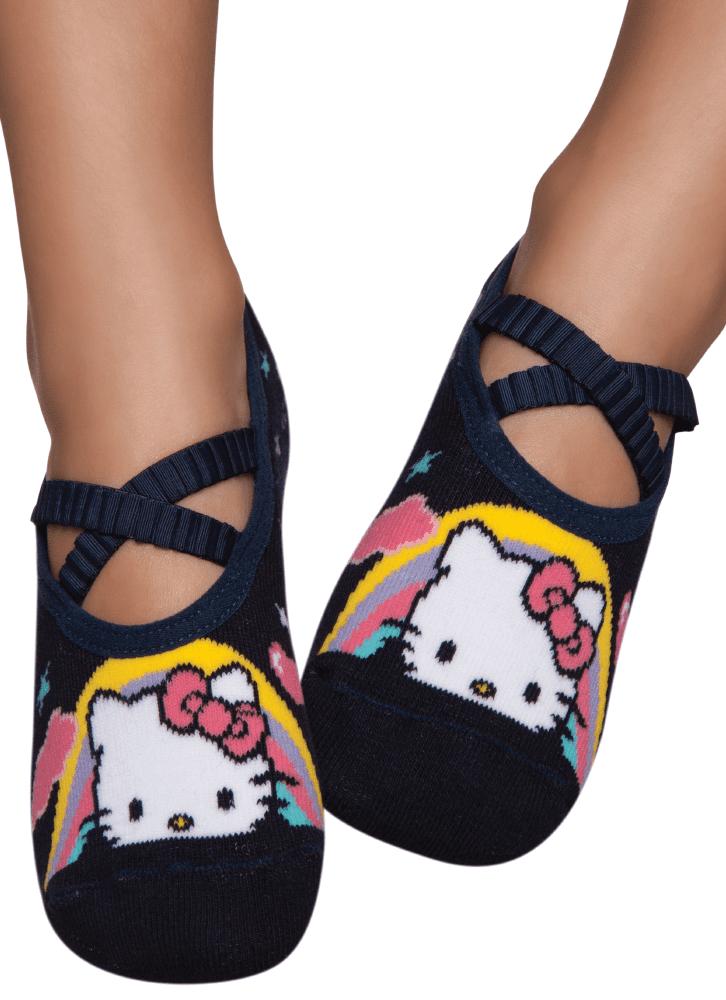 880a8cf25d44eb Meia Sapatilha Boneca Hello Kitty Kids - puket