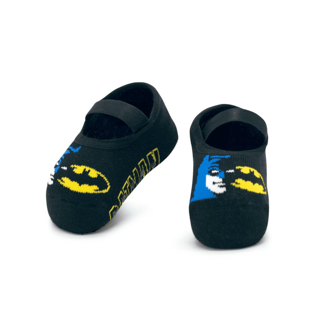 Meia Menino Sapatilha Antiderrapante Batman