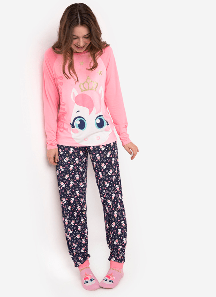 PIJAMA-ML-ADULTO-VISCO-UNICORNIO
