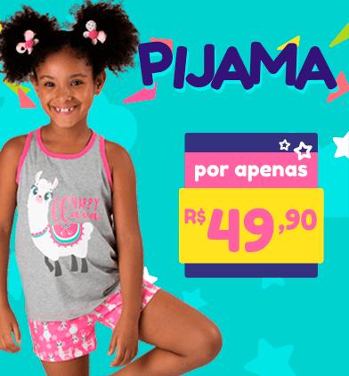 Promoção de Pijamas por apenas R$49,90