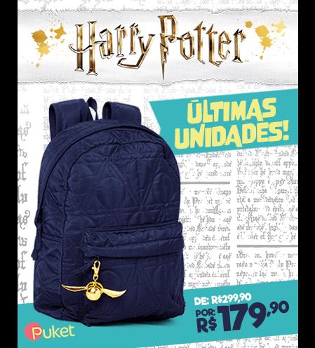 Últimas unidades Mochila Harry Potter!
