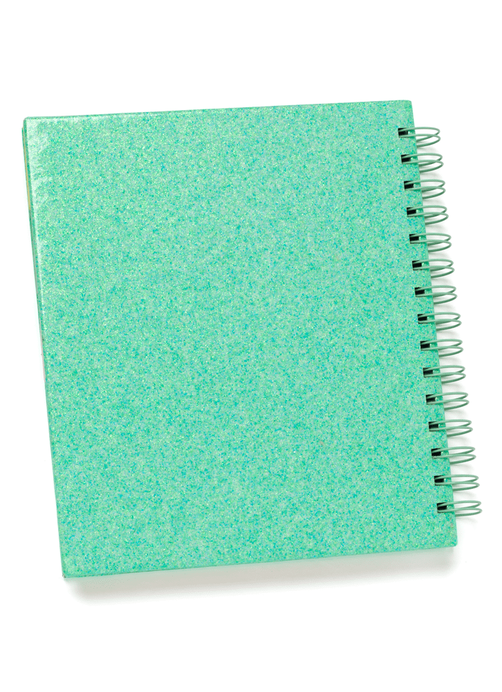 Planner A5 capa Glitter