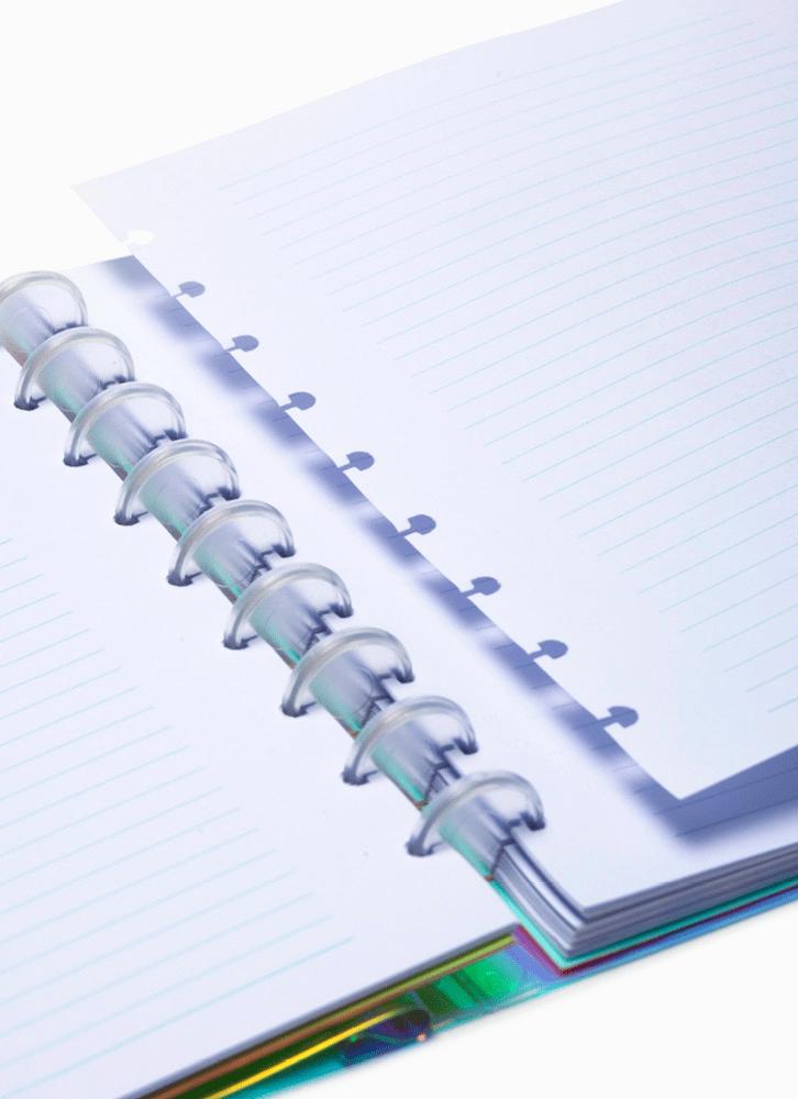 Caderno Holográfico Customizável
