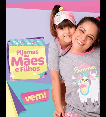 Pijamas de Mãe e Filha! Confira