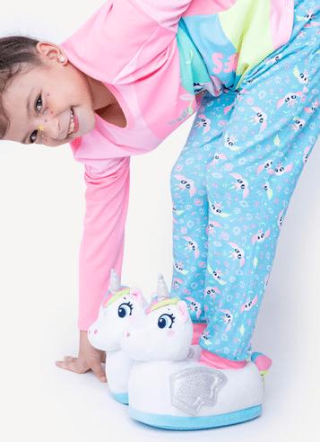 Pantufa-Infantil-Unicornio