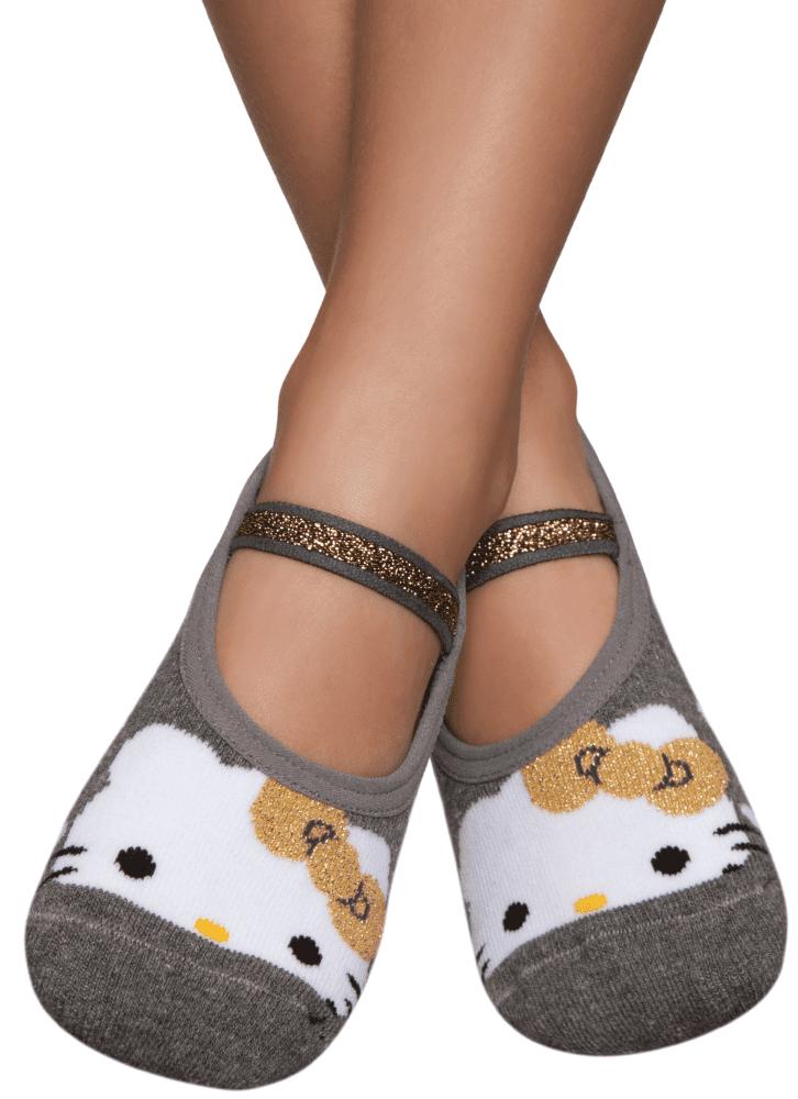 5269219a2 Meia Sapatilha Boneca Hello Kitty Kids - puket