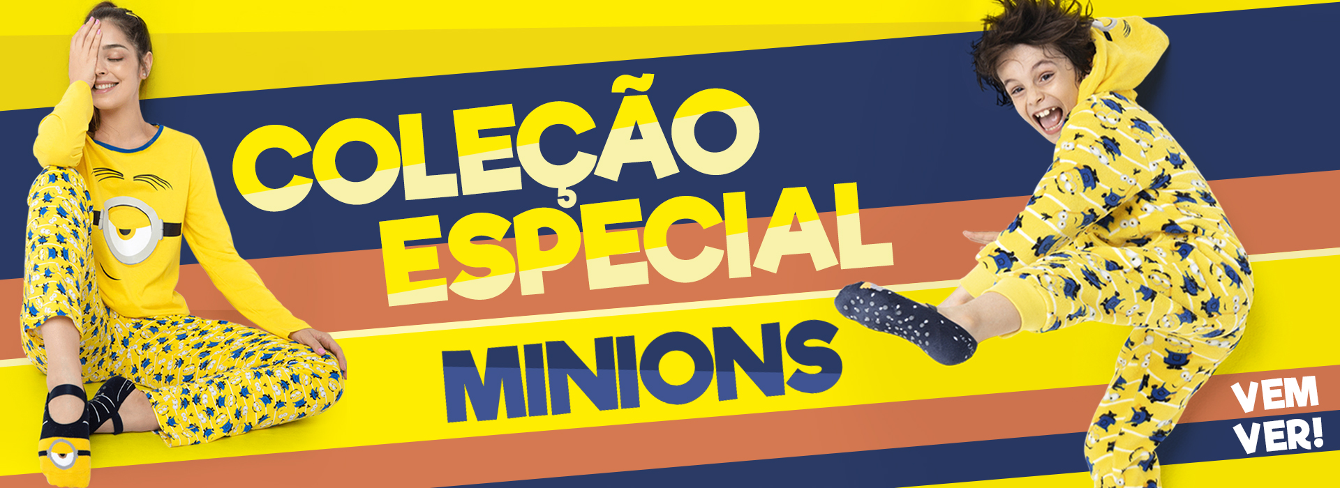 Banner D: Coleção especial Minions