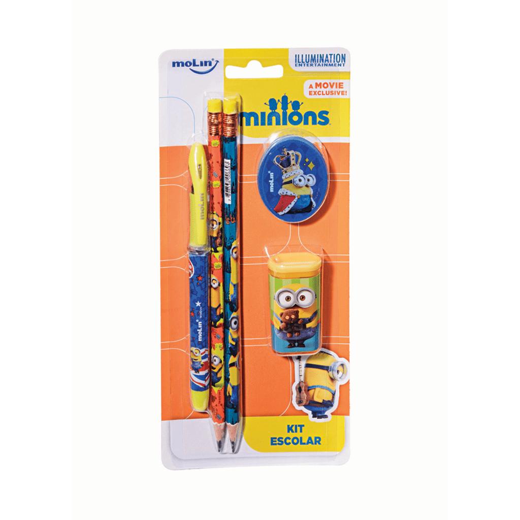 Kit Escolar Minions