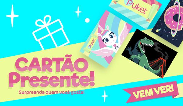 Banner A: Cartão Presente! Surpreenda quem você gosta