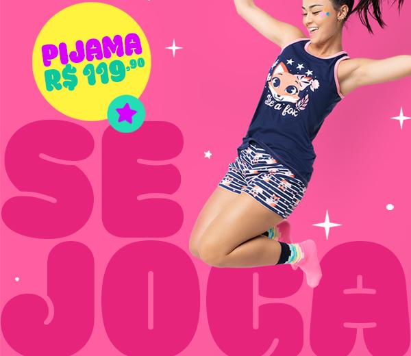 Banner B: Pijama Raposa! A partir de 119,90